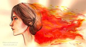 Not afraid of fire by Hikari-chi