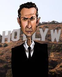 Jeff Goldblum by weaseltear