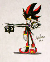 Shadow The Hedgehog by WhereShadowsThrive