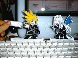 PaperChildren: Cloud-Sephiroth by WhereShadowsThrive