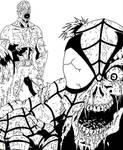 Marvel Zombies Cap and Spidey
