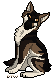 Oliris Wolf Pixel Tag by ContradictingCats
