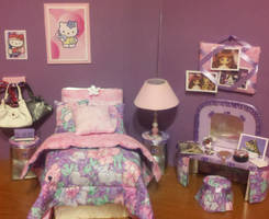 Doll room Lavender by Donttouchmykitty