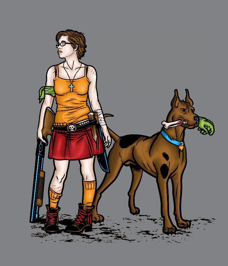 ึ7.หีบปู่โสมเฝ้าทรัพย์ Scooby_doo_fan_art_by_evertonstz-d2zy975