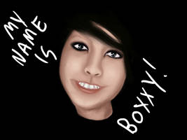 My name is boxxy by evertonstz