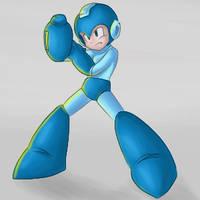 Megaman by evertonstz