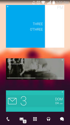 Flat'ish on Android (Zooper Pro)