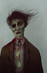 Yet another zombie by evertonstz