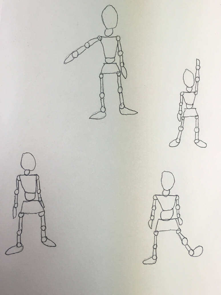 Mannequin drawings