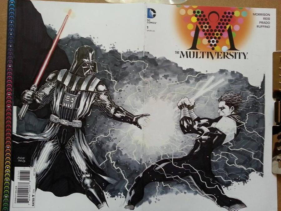 Vader vs Nightwing by McKnightHC