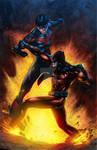 Nightwing v Cerberus red variant