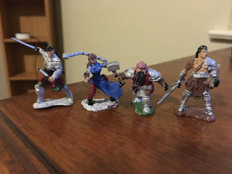 DnD Minis by MercyInk87