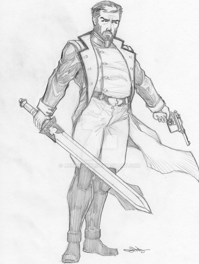 Captain Devon McManus by MercyInk87