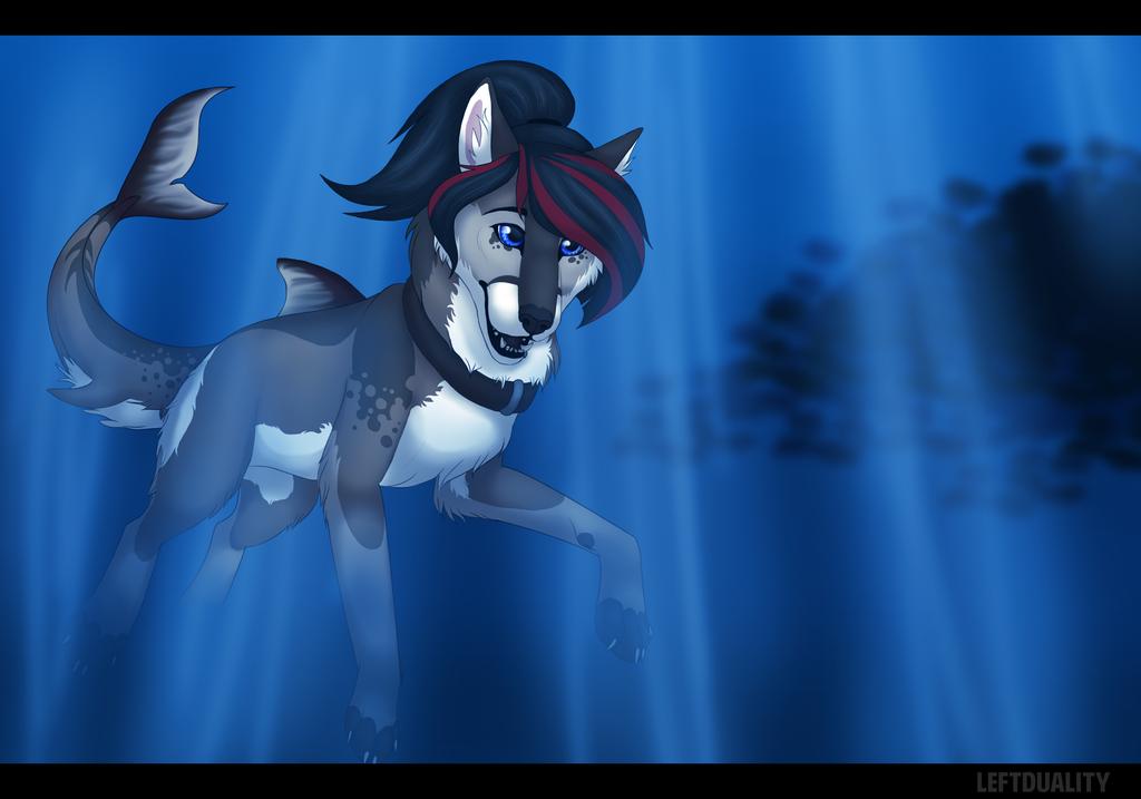 [P.C.] Sierra: the Sharkdoge by LeftDuality