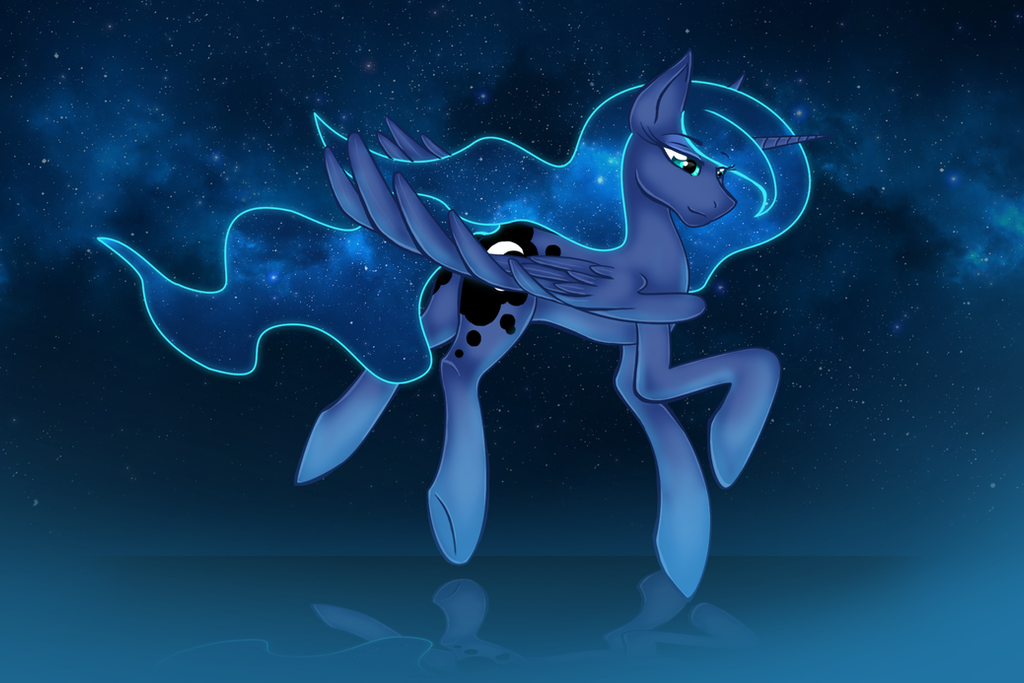 One More Night {Luna} by LeftDuality