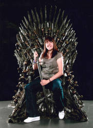 Shauni flesh on the iron throne