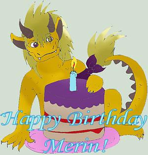 Happy Birthday Merlin!