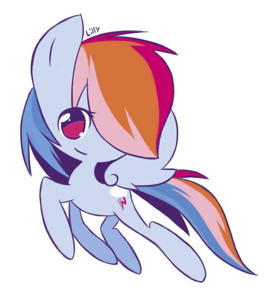 Dashing Rainbow by GrumpyBuneary