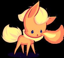 Chibi Flareon by GrumpyBuneary