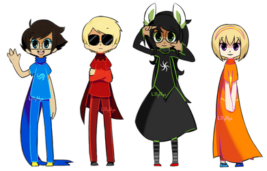 Beta kids by GrumpyBuneary