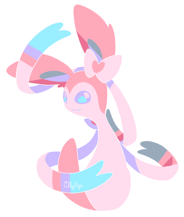 Sylveon by LillyNya