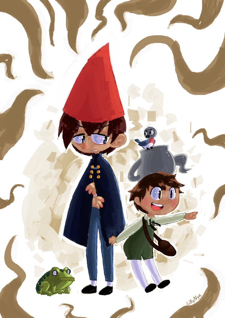 over the garden wall by LillyNya
