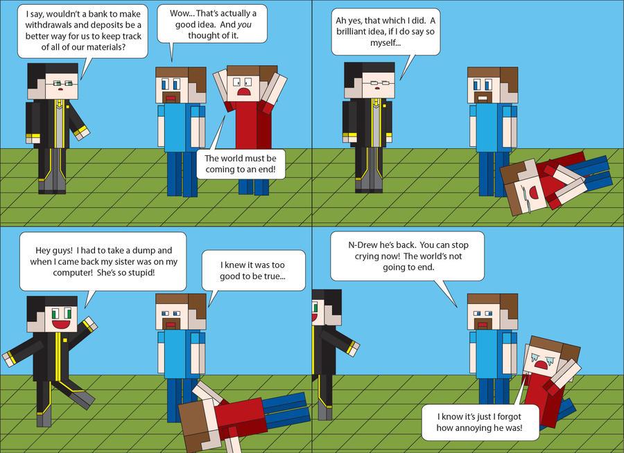 Minecraft XXX by T-3000