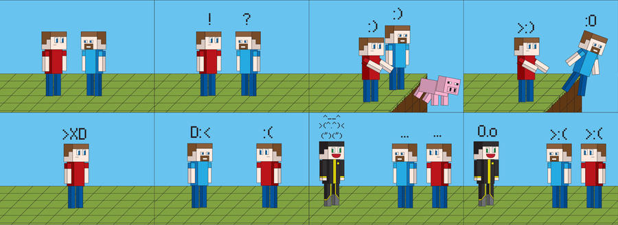 Minecraft 43 so i was looking on the server i