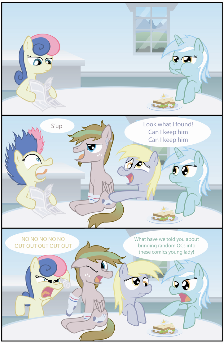Derpy's New Friend by T-3000
