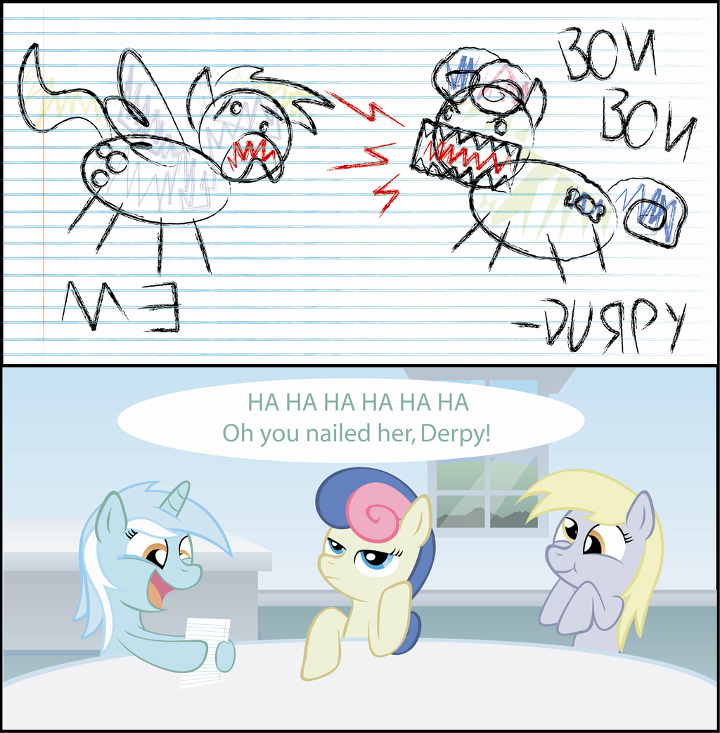 Derpy's Comic by T-3000