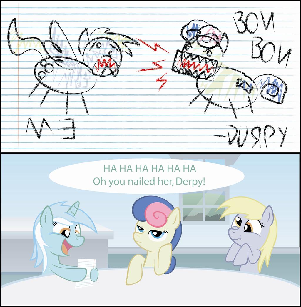 Derpy's Comic by T-3000