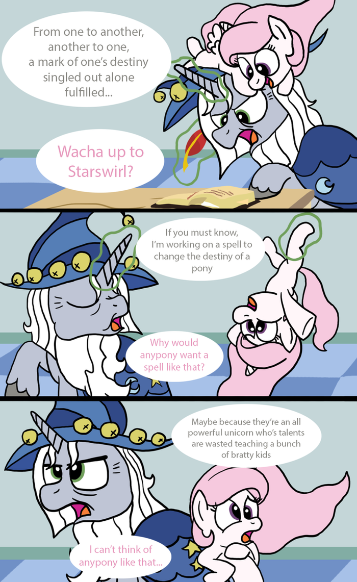 The Secret Spell of Starswirl by T-3000