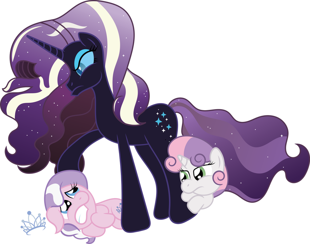 rarity of brandontheunicorn by diamond art and luscious daughter spike