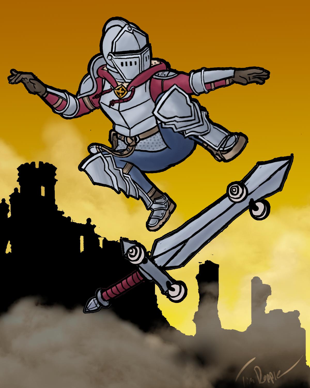 Skater Knight