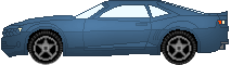 Chevrolet Camaro Pixel Art by Kelo821