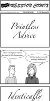 DepCom Guest Comic: Pointless Advice