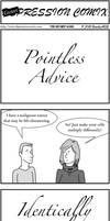 DepCom Guest Comic: Pointless Advice