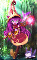 Lulu - League of Legends by Krmn-chan