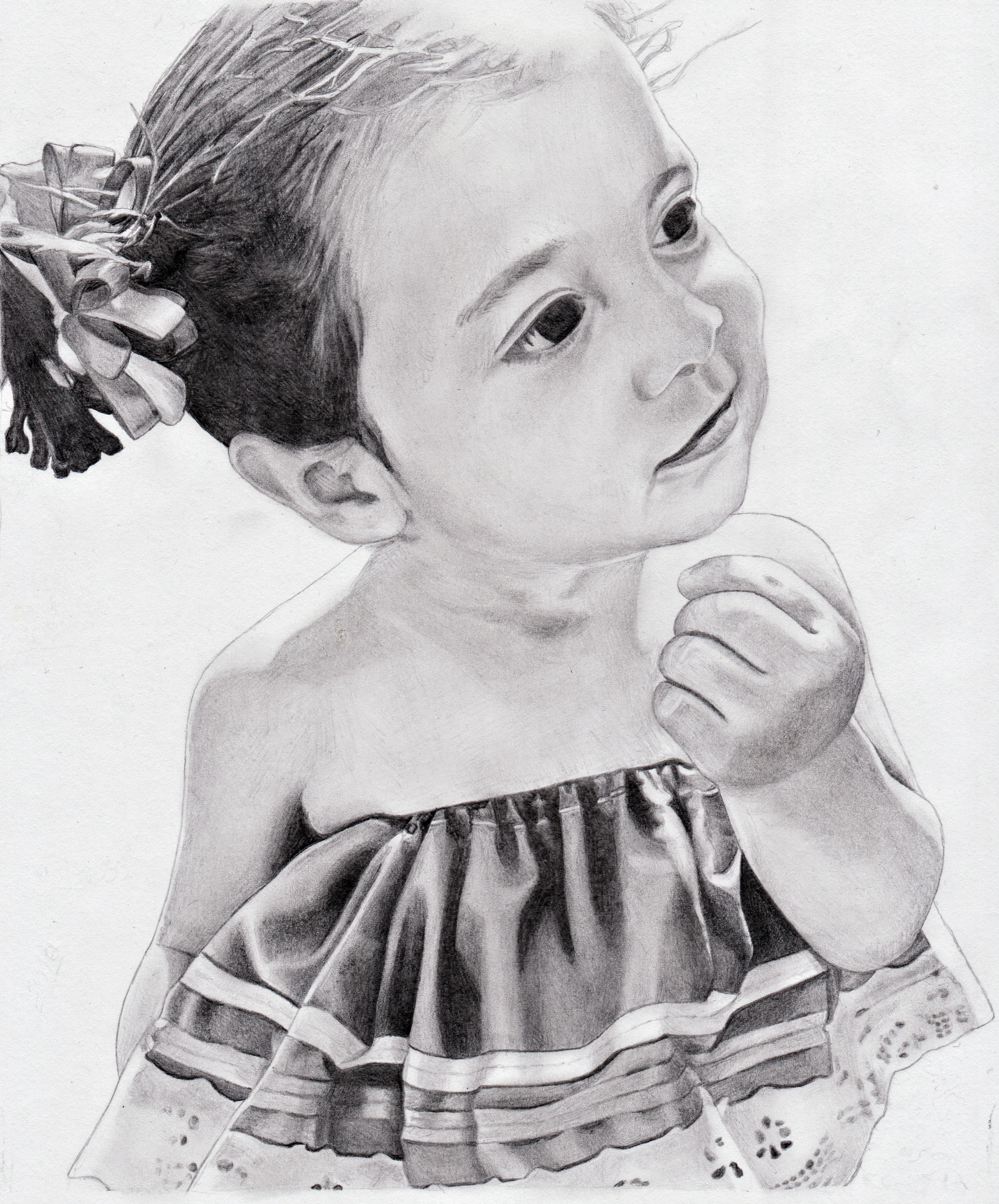 Commission Drawing of a little girl by Wyckedness on DeviantArt