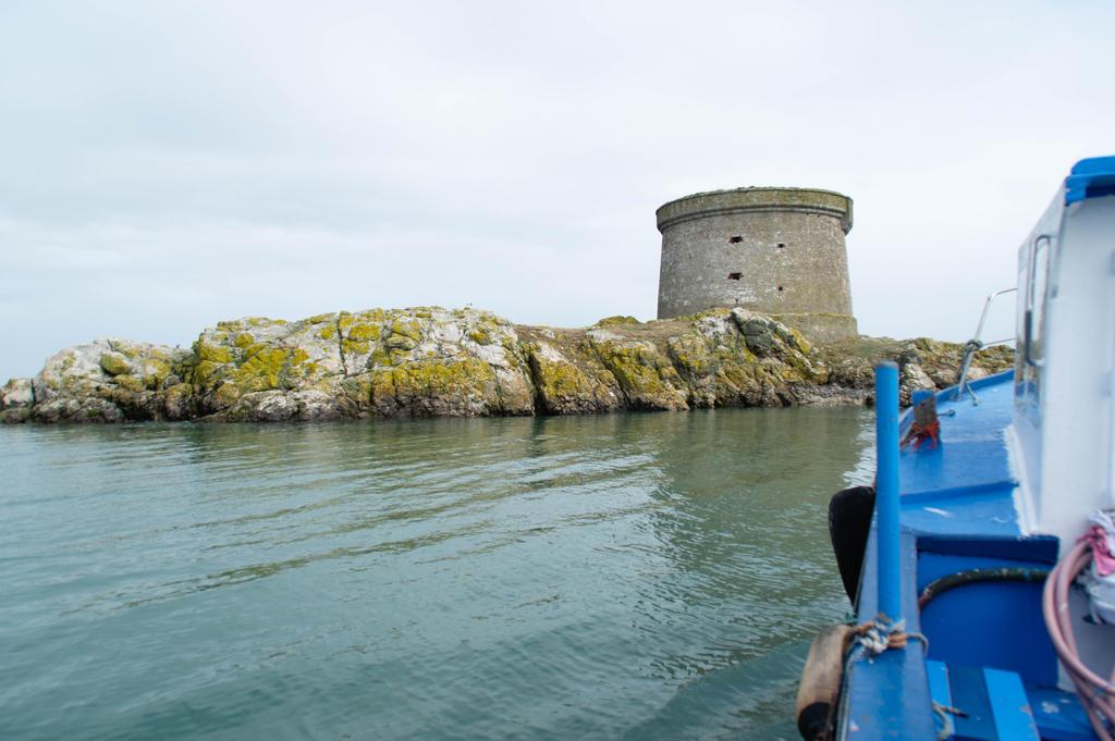 Martello Tower Ireland's Eye by advdiaboli