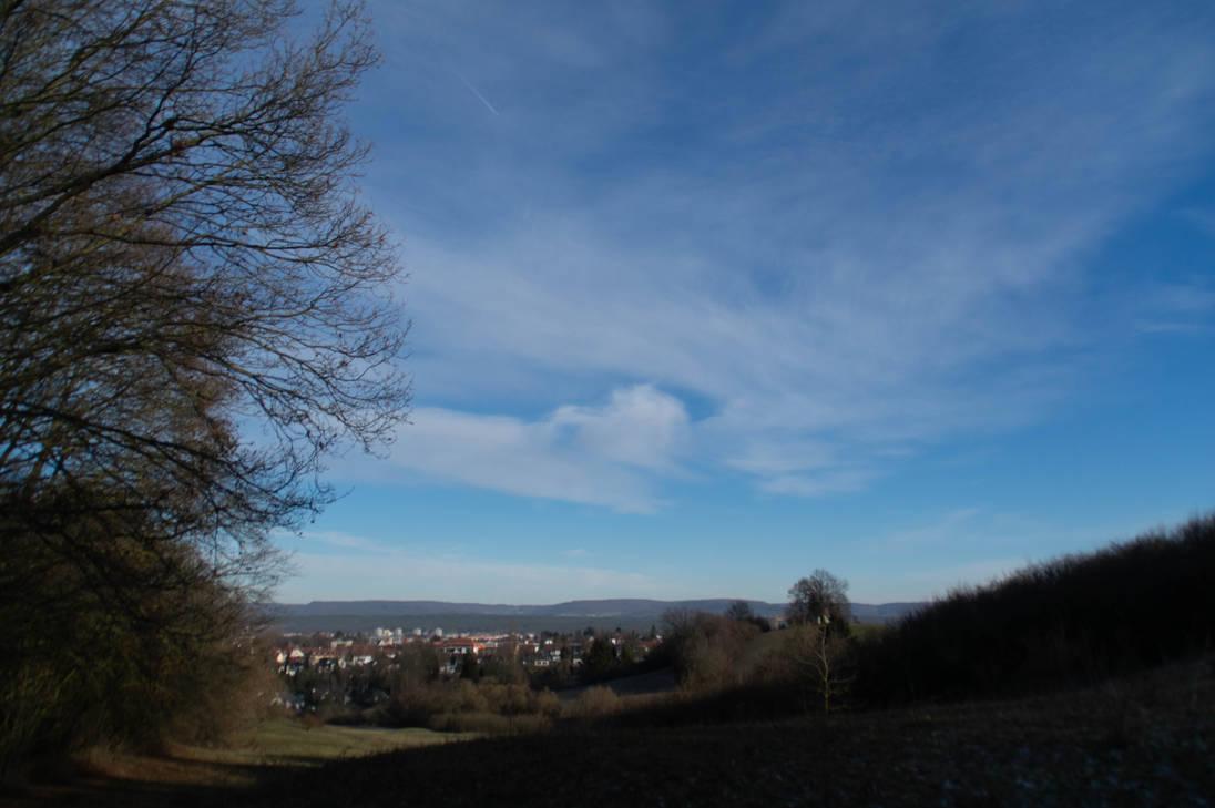 Winter Sky by advdiaboli