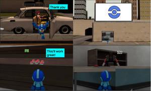 SFRM Episode 4 Megaman's Cupcake Heist Page 13