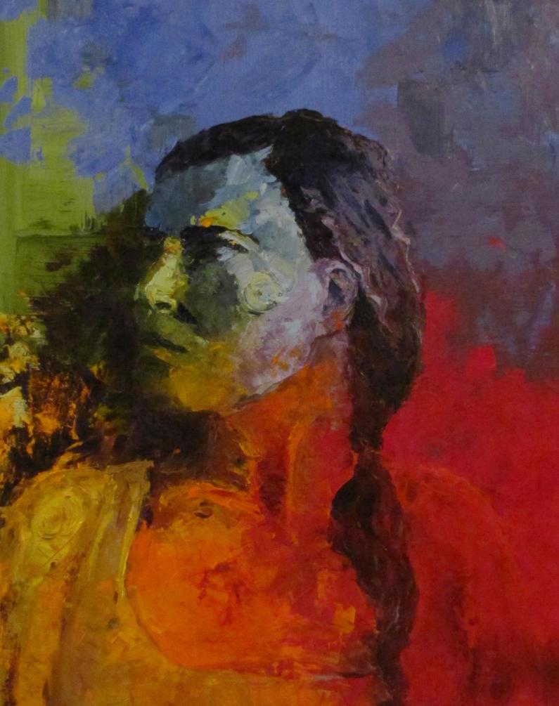 Color Wheel Self Portrait By BizBoston
