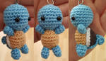 Squirtle pattern (key pendant)