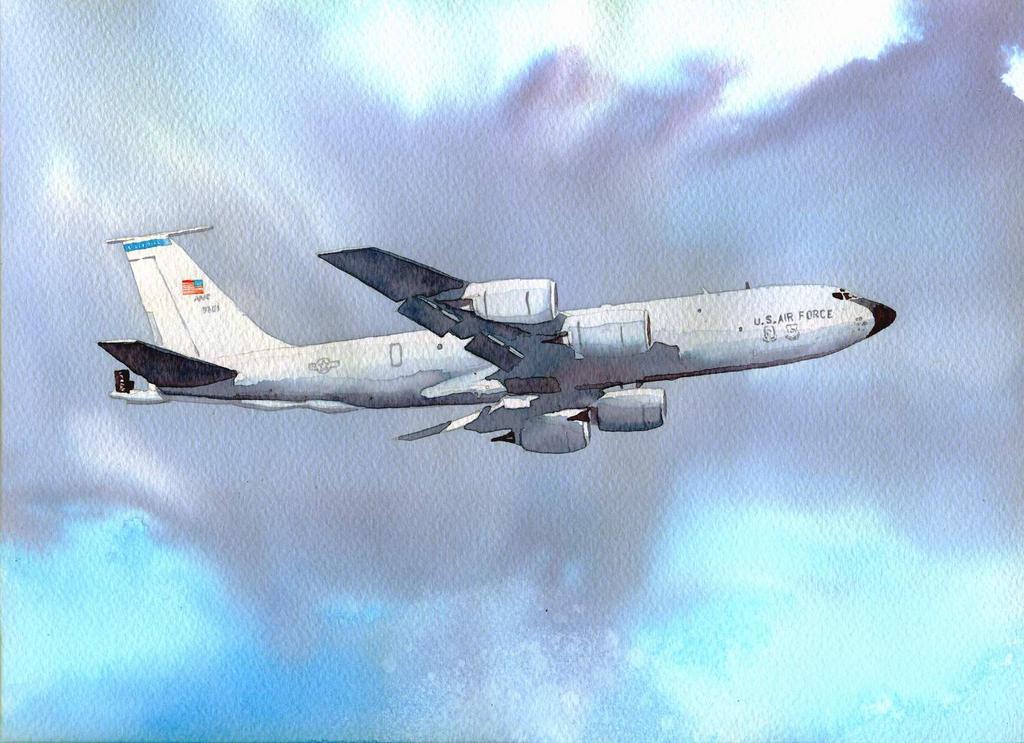KC-135 stratotanker by mariofdy