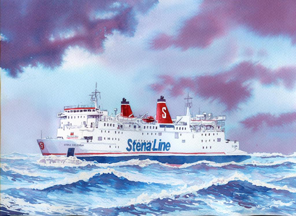 Stena Caledonia by mariofdy