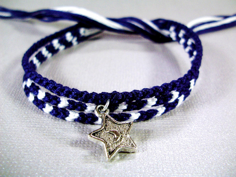 Midnight Sky Tiny Bracelet Set with Star Charm by QuietMischief