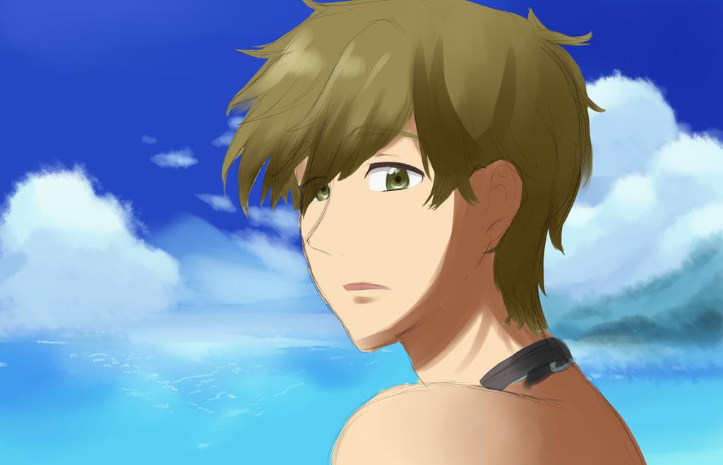 Makoto Screencap Redraw Challenge by ce2ree2