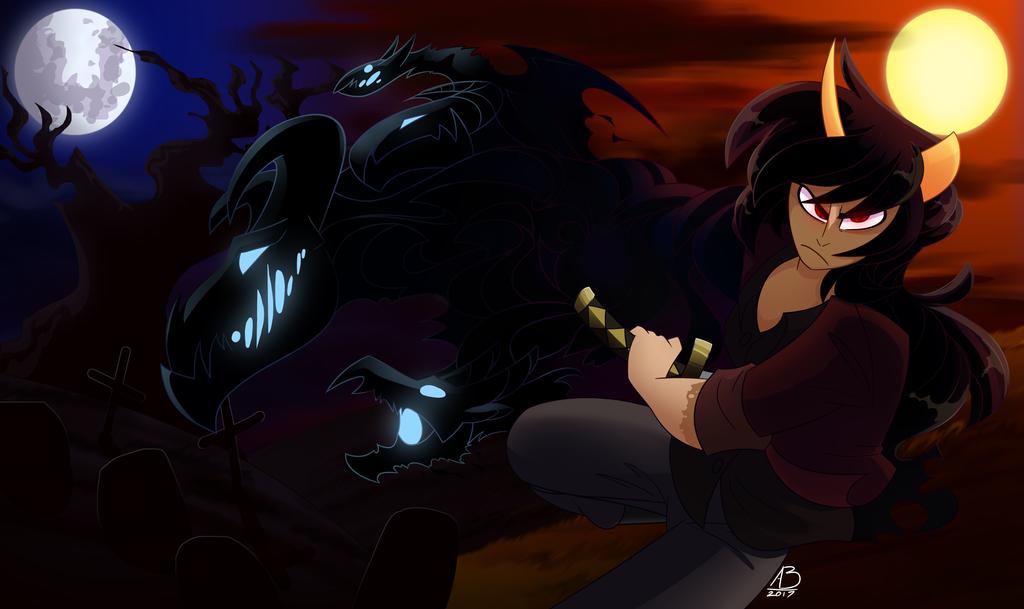 Dragon Warrior by CyberHorse10