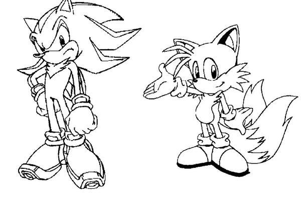 Gemütlich Sonic Und Tails Malvorlagen Zeitgenössisch - Ideen färben ...